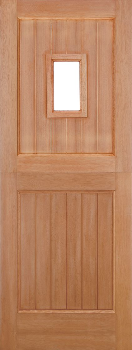 Hardwood Stable Unglazed Straight Top M&T (1L)